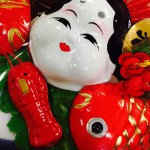 2015年新年はこの福顔のしめ飾りが皆様を出迎えます